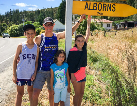 About the Alborn Family - AbelTasman.com