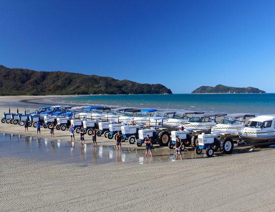 The Alborn Family & Abel Tasman AquaTaxi & Marahau Water Taxis - AbelTasman.com