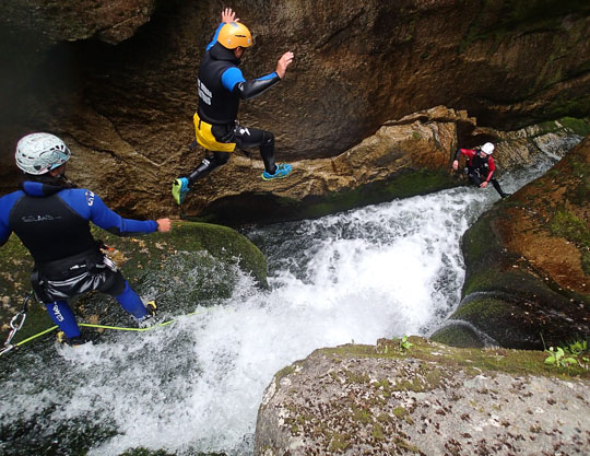 Adventure Activities in the Abel Tasman | Canyoning