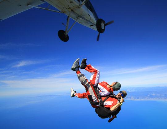 Adventure Activities in the Abel Tasman | Skydiving