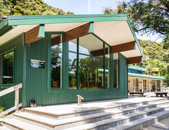 Accommodation and Camping in the Abel Tasman National Park - Anchorage Doc Hut