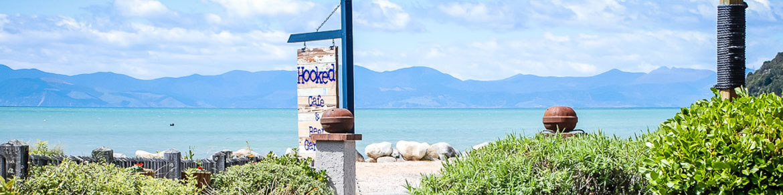 Hooked On Marahau - Restaurant & Bar at the gateway to the Abel Tasman