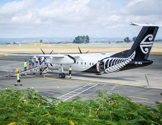 Air transport to the Abel Tasman - How to get here