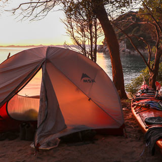 Camping & Accommodation in the Abel Tasman National Park