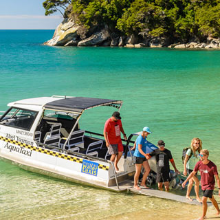 How to get to the Abel Tasman National Park