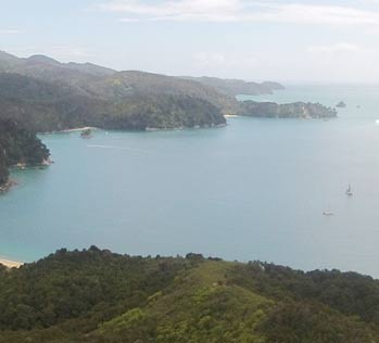 Places to go in the Abel Tasman - Anchorage