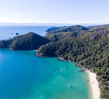 Places to go in the Abel Tasman - Bark Bay