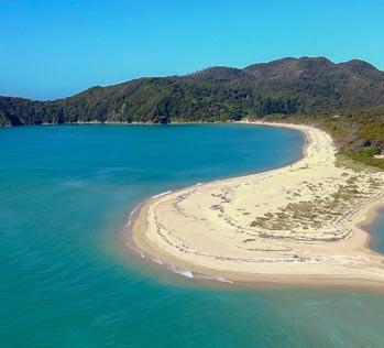 Places to go in the Abel Tasman - Awaroa
