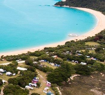 Places to go in the Abel Tasman - Totaranui