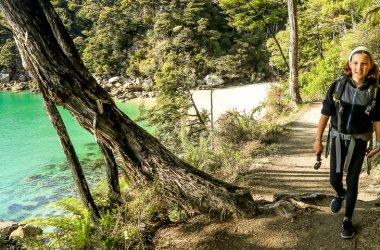 Slice of Paradise - enjoy an Abel Tasman water taxi ride and a walk in the park!